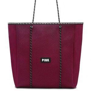 Victoria's Secret PINK Neoprene Beach Tote Bag NEW